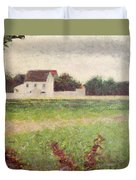 Landscape In The Ile De France Duvet Cover