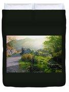 Landscape In Wales Duvet Cover