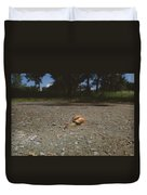 Landscape Of The Snail Duvet Cover