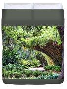 Landscape Rip Van Winkle Gardens Louisiana  Duvet Cover