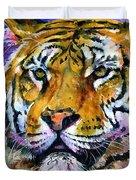 Landscape Tiger Duvet Cover