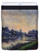 Landscape With A Lock 1885 Duvet Cover