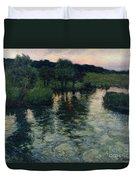 Landscape With A River Duvet Cover