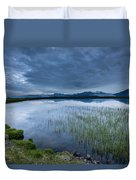 Landscape With Water Grass Duvet Cover