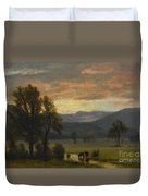 Landscape_with_cattle Duvet Cover