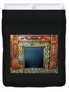 Lane-hooven House Antique Fireplace Duvet Cover