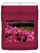 Lane Of Pink Duvet Cover