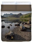Langdale Pikes And Blea Tarn Duvet Cover