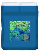 Languid Lagoon Duvet Cover