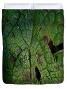 Languid Leaf Duvet Cover
