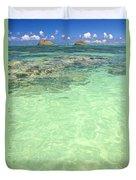 Lanikai, Mokulua Islands Duvet Cover