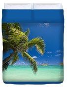Lanikai Seascape Duvet Cover