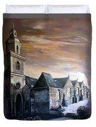 Lanrelas Church  Duvet Cover