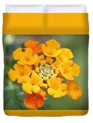 Lantana Flower Duvet Cover