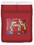 Lantern Dance Duvet Cover