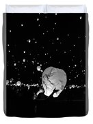 Lantern Liftoff Duvet Cover