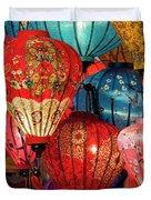 Lanterns Duvet Cover