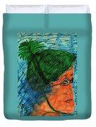 Lap Swim Duvet Cover
