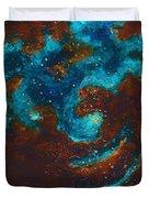 Lapis Lazuli Nebula  Duvet Cover