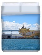 Large Banana Boat Duvet Cover