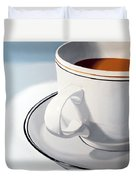 Large Coffee Cup Duvet Cover