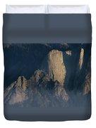 Large Granite Mountains In California Duvet Cover