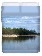 Large Pond Duvet Cover