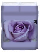 Large Purple Rose Center - 002 Duvet Cover
