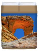 Large Sandstone Arch Valley Of Fire Duvet Cover