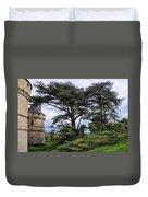 Large Trees At Chateau De Chaumont Duvet Cover