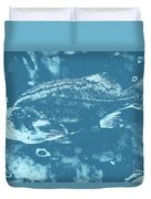 Largemouth Bass 8 Duvet Cover