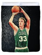 Larry Bird Duvet Cover