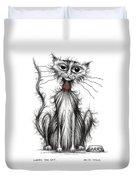 Larry The Cat Duvet Cover