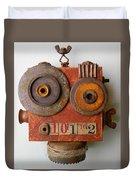 Larry The Robot Duvet Cover