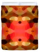 Las Tunas Abstract Pattern Duvet Cover