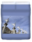 Las Vegas Angels Duvet Cover