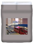 Las Vegas Monorail Duvet Cover