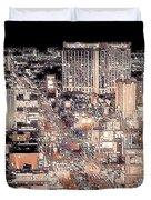 Las Vegas Never Sleeps Duvet Cover