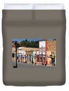 Las Vegas New Mexico Duvet Cover