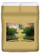 Lasdon Fountain Garden Duvet Cover