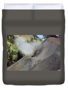Lassen Volcanic Wilderness Duvet Cover by Christine Till