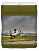 Last Flight Duvet Cover