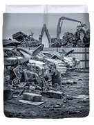 Last Journey - Salvage Yard Duvet Cover