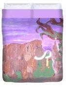 Last Mammoth Duvet Cover