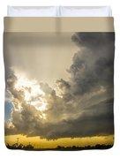 Last Nebraska Supercell Of The Summer 024 Duvet Cover