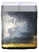Last Nebraska Supercell Of The Summer 045 Duvet Cover