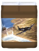 Last Of The Dambusters Duvet Cover by Marc Stewart