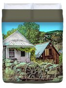 Last Post Office And Ice House Duvet Cover