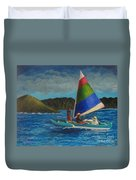 Last Sail Before The Storm Duvet Cover