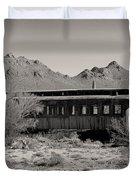Last Stop Tucson Duvet Cover